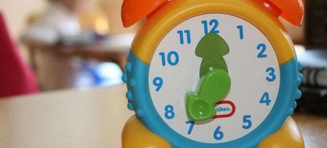 Методика того, как понимать время на часах