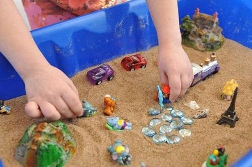 Песочная терапия для детей: программа занятий с психологом для ребенка дошкольного возраста, упражнения и конспекты с темами